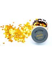 Glitter Chunks Metallic  AUGUSTUS GOLD