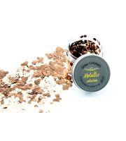 Glitter Chunks Metallic  BARNABY BRONZE