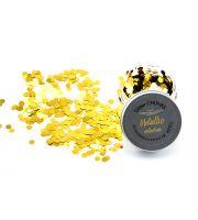 Glitter Chunks Metallic  LEOPOLD LEMONGOLD