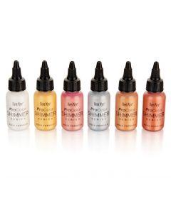 Pro Colour x 6  29 ml bottle Shimmer Starter Kit